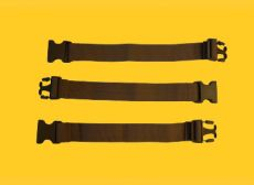 "38mm x 12"" Main Compression Strap Extensions, Set of 3"